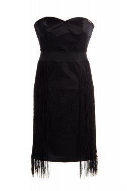 Robe noire pour les fetes