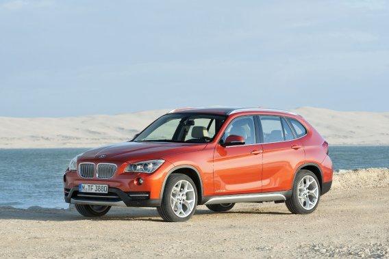 Le BMW X1.
