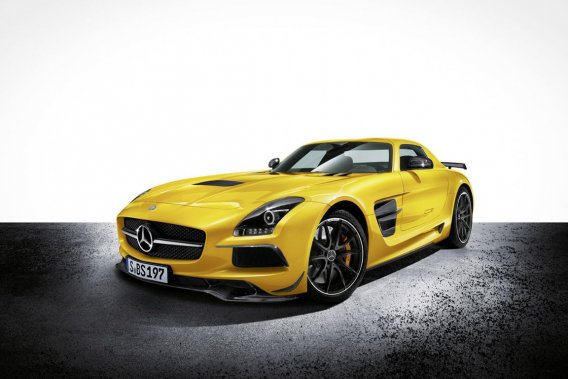 La Mercedes SLS AMG Black Series 2014.