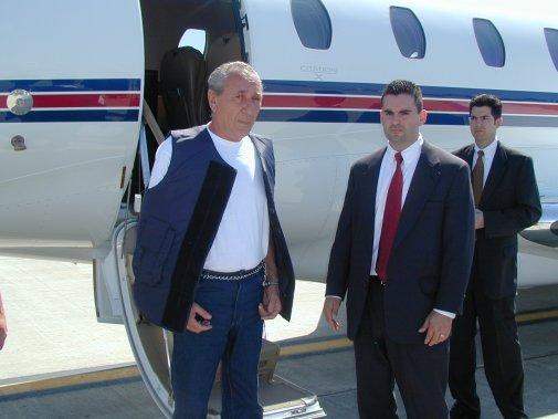 Vito Rizzuto, extradé aux États-Unis le 17 août 2006. (Photo archives La Presse)