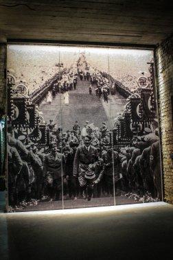 Le Dokumentationszentrum propose une exposition qui brosse un portrait du nazisme et de ses conséquences. (Photo Jessica Théroux, collaboration spéciale)