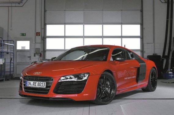 Audi aurait mis au point une nouvelle batterie plus performante qui augmenterait de façon substantielle l'autonomie de la R8 e-tron.