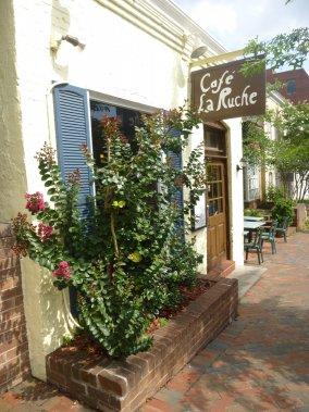 Le Café La ruche, un incontournable du quartier Georgetown. (Photo Catherine Schlager, La Presse)