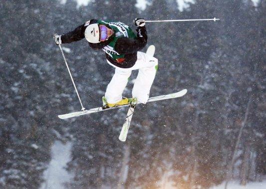 Marc-Antoine Gagnon a réussi son premier podium en carrière. (Jim Urquhart, USA Today)