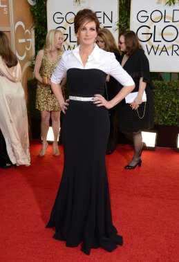 Julia Roberts porte une tenue Dolce & Gabbana. (Photo Jordan Strauss, AP)