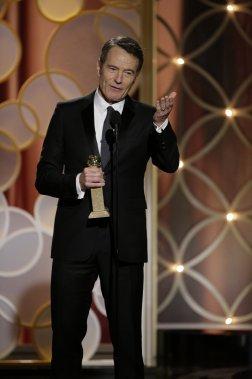 Bryan Cranston, l'acteur principal de la populaire série Breaking Bad, a remporté le titre du meilleur acteur dans une série télévisée. (Reuters)