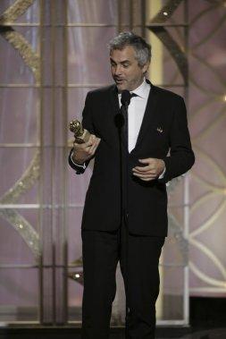 Alfonso Cuaron a été couronné meilleur réalisateur pour son travail sur Gravity. (Reuters)