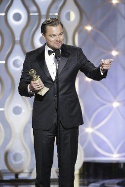 Leonardo DiCaprio a été sacré meilleur acteur dans la catégorie «film musical ou comédie» pour The Wolf of Wall Street. (Reuters)