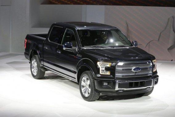La nouvelle version du <em>pick-up</em> F-150 de Ford, le plus vendu aux États-Unis.