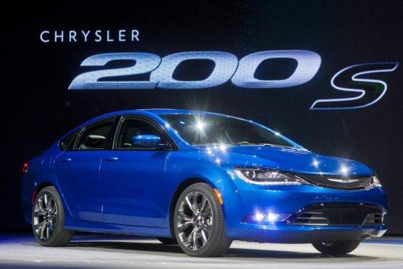 La nouvelle Chrysler 200.