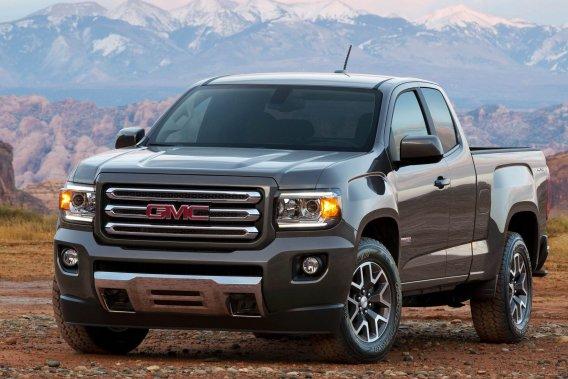 Le Canyon affiche un dessin particulièrement différent de son cousin, le Chevrolet Colorado.