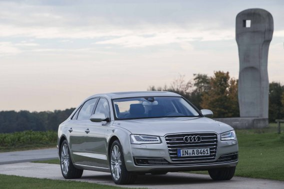 Les nouveaux phares de la Audi A8 ne traverseront pas l'Atlantique.