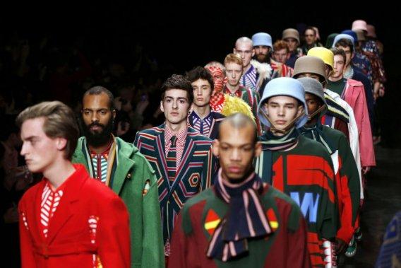 Walter Van Beirendonck (Photo AFP)