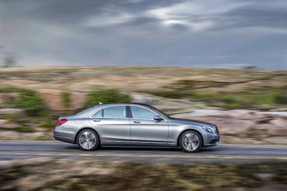 Mercedes-Benz Classe S (Photo fournie par Mercedes-Benz)
