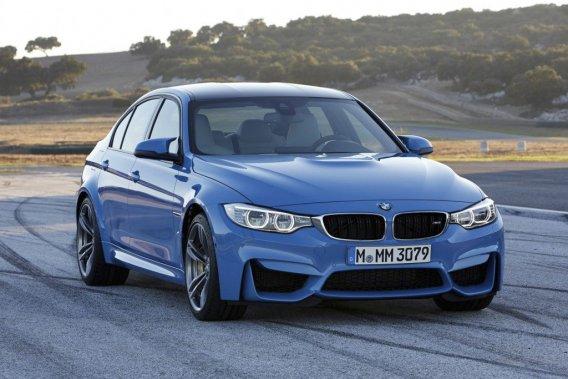 La nouvelle BMW M3 était présente à Detroit