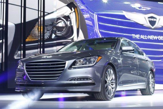 La nouvelle Genesis sera équipée en option d'un rouage à quatre roues motrices, un indispensable dans la catégorie.