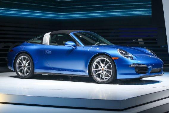 La nouvelle Porsche 911 Targa 2014
