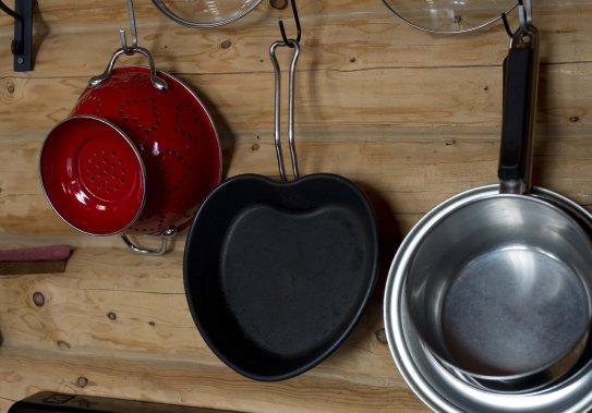 Les chalets sont même équipés pour cuisiner des repas en tête-à-tête. Il ne suffit que d'apporter sa nourriture. (PHOTO SYLVAIN MAYER, LE NOUVELLISTE)