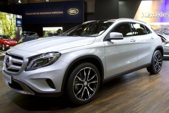 Le nouveau Mercedes GLA