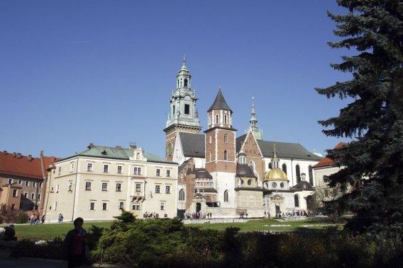 Le château de Wawel a été fondé vers l'an 1000 par le roi Bolesaw le Vaillant. (Photo Louis-Samuel Perron, La Presse)