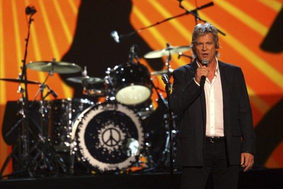 Jeff Bridges, maître de cérémonie de la soirée. (Photo: AP)