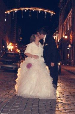 Aurore et Jean-Philippe ont décidé de se marier en décembre, car ce mois a une valeur symbolique pour le couple. Le couple s'est rencontré le 19décembre2010 et leur fille est née le 3décembre2012. (PhotoVicky Photographie, fournie par les mariés)