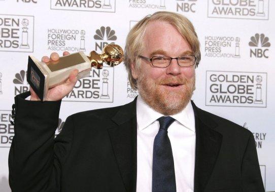 Philip Seymour Hoffman remporte le Golden Globe du meilleur acteur pour son rôle dans «Capote» de Bennett Miller. (Photo: archives Reuters)