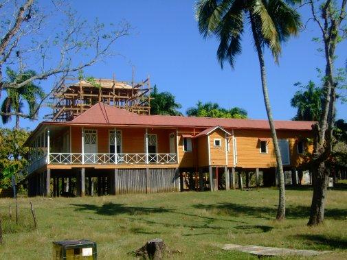 La ferme familiale où Fidel Castro a passé son enfance, dans le village de Biran. (Photo Andrée Lebel, La Presse)