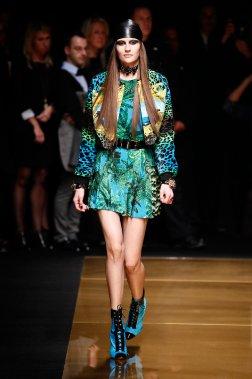 Défilé de Versace pour H&M. (Photo fournie par H&M)