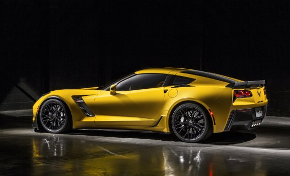Chevrolet Corvette Z06 (Photo fournie par General Motors)