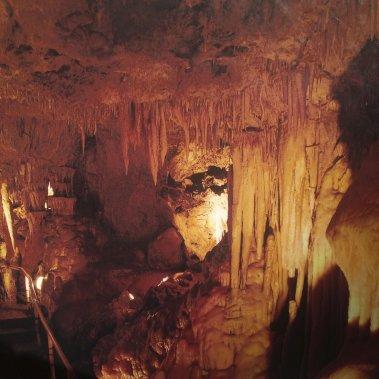 Le décor étrange de la grotte de l'Observatoire. (Photo Aurélie Resch, collaboration spéciale)