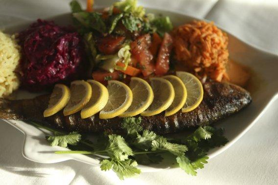 Outre le hareng, la truite s'invite aussi dans les assiettes. (Photo Martin Chamberland, La Presse)