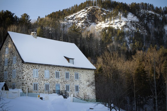 Moulin de la Rémy (Photo Sira Chayer, La Presse)