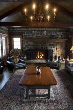 sainte ad le un chalet devenu une chaleureuse maison de campagne pierre desch nes maisons. Black Bedroom Furniture Sets. Home Design Ideas