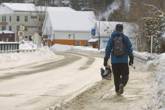 Wakefield est une destination tout indiquée pour les amateurs de sports d'hiver. (Photo Ivanoh Demers, La Presse)