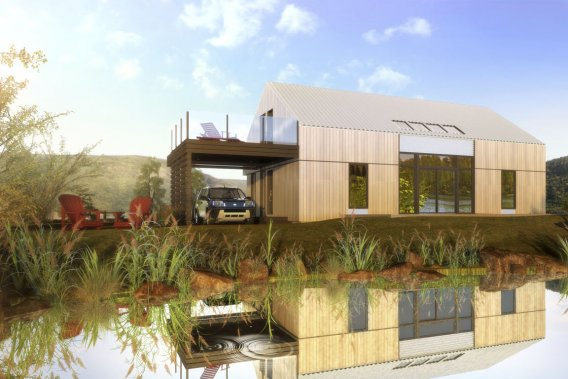 un shack pour l 39 t lucie lavigne projets immobiliers. Black Bedroom Furniture Sets. Home Design Ideas