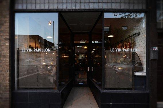 Le Vin papillon (Photo Bernard Brault, La Presse)