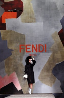 Fendi (Photo Tiziana Fabi, AFP)