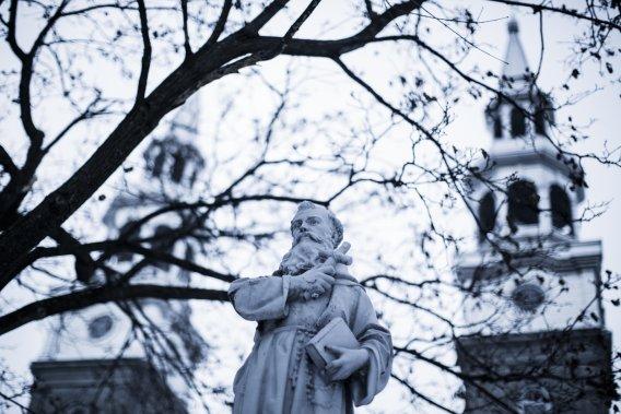 Érigée entre 1749 et 1751, l'église de la Visitation de la Bienheureuse Vierge Marie est la seule du régime français qui subsiste encore dans l'île de Montréal. (PHOTO EDOUARD PLANTE-FRÉCHETTE, LA PRESSE)