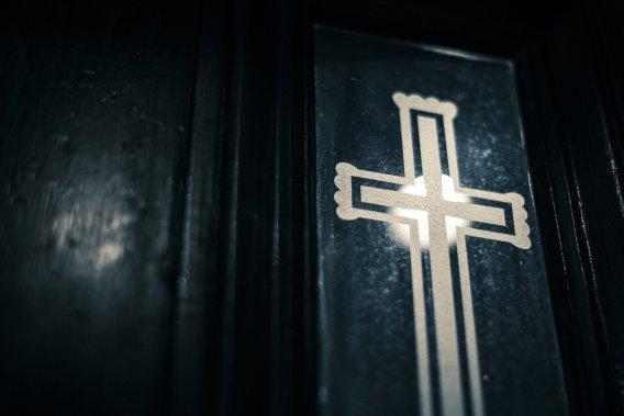 Il y a plusieurs éléments décoratifs intéressants dans l'église de la Visitation. (PHOTO EDOUARD PLANTE-FRÉCHETTE, LA PRESSE)