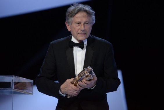 C'est le légendaire - et controversé - Roman Polanski qui a reçu le César de la meilleure réalisation grâce à son travail derrière la caméra pour le film La Vénus à la fourrure. (Photo AFP)