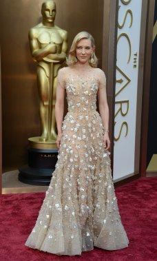 Cate Blanchett, en lice pour remporter l'Oscar de Meilleure actrice pour son rôle dans Blue Jasmine (Photo ROBYN BECK, AFP)