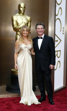 Goldie Hawn et Kurt Russell (Photo LUCAS JACKSON, Reuters)