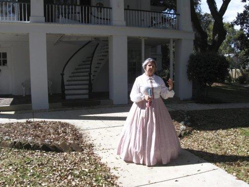 Visite animée au complexe historique Oakleigh. (PHOTO MARIE TISON, LA PRESSE)