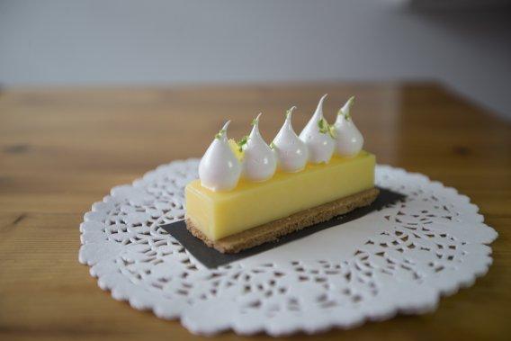 La tartelette au citron de Pâtisserie Rhubarbe. (Photo Ivanoh Demers, La Presse)