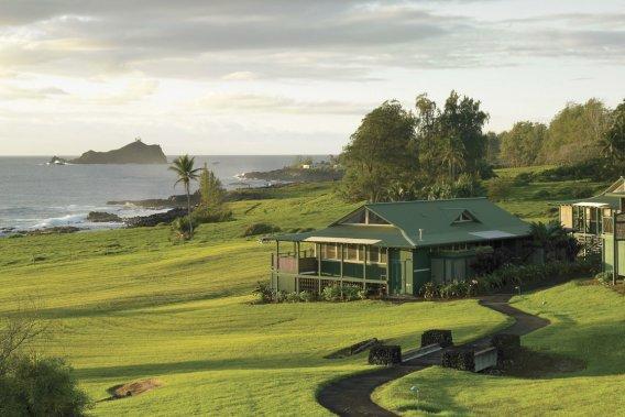 L'hôtel Hana Travaasa est construit sur une propriété immense qui donne sur la mer. (Photo fournie par l'hôtel Hana Travaasa)