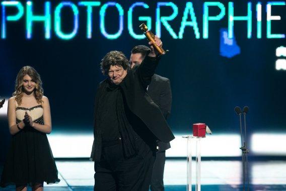 Le prix de la Meilleure direction de la photographie a été remis à Michel La Veaux pour Le démantèlement. (PHOTO HUGO-SÉBASTIEN AUBERT, LA PRESSE)