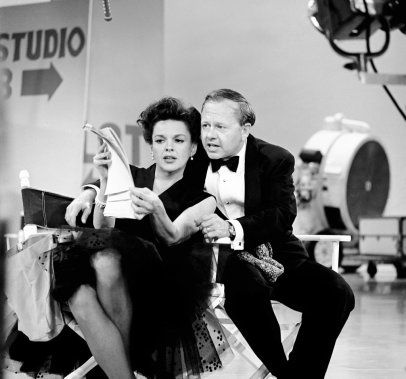 Mickey Rooney et Judy Garland. (Photo: archives AP)