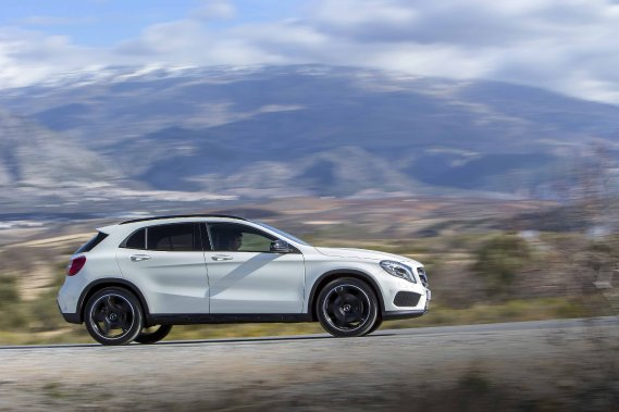 Mercedes-Benz GLA (Photo fournie par Mercedes-Benz)