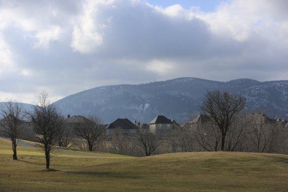 Mont-Saint-Hilaire (Photo Martin Chamberland, La Presse)